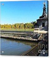 Madrid River Park Acrylic Print