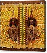 Medina Of Faz Acrylic Print