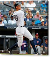 Minnesota Twins v New York Yankees Acrylic Print