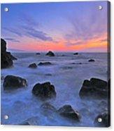 Muir Beach Sunset Acrylic Print