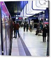 New Hafencity Station In Hamburg Acrylic Print