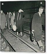 Nine Dead In Tube Disaster Acrylic Print