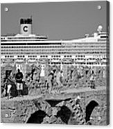 Old City Of Rhodes Acrylic Print