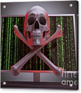 Online Security Acrylic Print