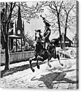Paul Reveres Ride, 1775 Acrylic Print