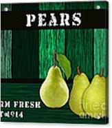 Pear Farm Acrylic Print