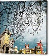 Pena Palace Acrylic Print