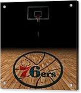Philadelphia 76ers Acrylic Print
