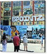 5 Pointz Graffiti Art 3 Acrylic Print