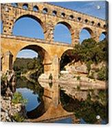 Pont Du Gard Acrylic Print by Brian Jannsen