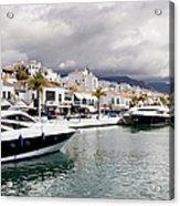 Puerto Banus In Spain Acrylic Print