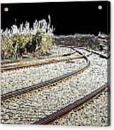 Rails Of Hope Acrylic Print