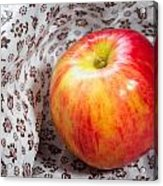 Red And Yellow Apple Acrylic Print