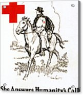 Red Cross Poster, C1917 Acrylic Print