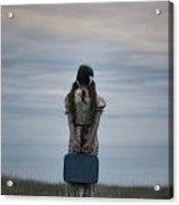 Refugee Girl Acrylic Print