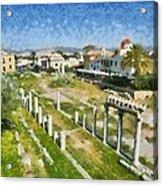 Roman Market Acrylic Print