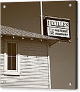 Route 66 - Lucille's Gas Station Acrylic Print