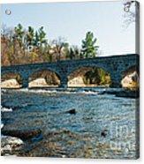 5-span Bridge Acrylic Print