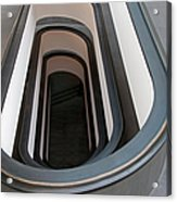 Spiral Staircase At The Vatican Acrylic Print