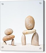Stones Stacked. Acrylic Print