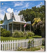 Sullivan's Island Tin Roof Story Book Cottage Acrylic Print