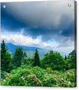 Sunrise Over Blue Ridge Mountains Scenic Overlook  Acrylic Print