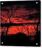 Sunrise Over The Fields Of Athenry Acrylic Print