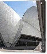 Sydney Opera House Detail In Australia  Acrylic Print
