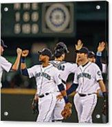 Texas Rangers V Seattle Mariners Acrylic Print