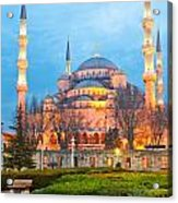 The Blue Mosque - Istanbul Acrylic Print
