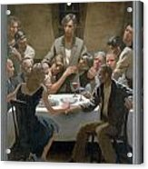 5. The Last Supper / From The Passion Of Christ - A Gay Vision Acrylic Print by Douglas Blanchard