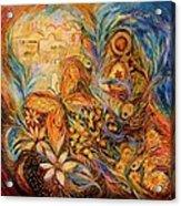 The Shining Of Jerusalem Acrylic Print