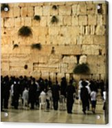 The Wailing Wall Acrylic Print
