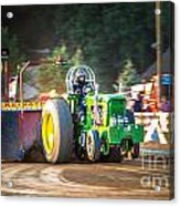 Tractor Pull Acrylic Print