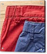 Trousers Acrylic Print by Tom Gowanlock