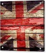 Union Jack Flag  Acrylic Print