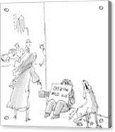 New Yorker September 12th, 2005 Acrylic Print