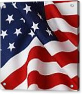 USA Acrylic Print by Les Cunliffe