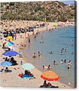 Vai Beach Acrylic Print