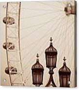 Vintage Lamp Post Acrylic Print
