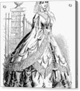 Women's Fashion, 1860 Acrylic Print