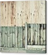 Wooden Background Acrylic Print