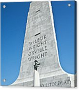Wright Brothers National Memorial Acrylic Print