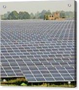 Wymeswold Solar Farm Acrylic Print