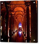 Yerebatan Sarayi Cistern Istanbul  Turkey  Acrylic Print