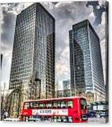 Canary Wharf London Acrylic Print