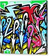Graffiti Acrylic Print