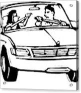New Yorker September 21st, 2009 Acrylic Print
