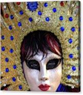 Venice At Carnival Time, Italy Acrylic Print