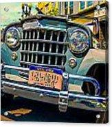 50 Willys Acrylic Print